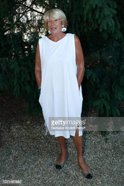 Autor of the Documentary in tribute to Jacques Deray Agnes VincentDeray attends the 11th Angouleme FrenchSpeaking Film Festival Day Two on August 22...