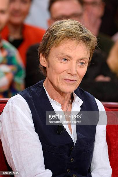 Autor Patrick Loiseau attends the 'Vivement Dimanche' French TV Show held at Pavillon Gabriel on November 20 2013 in Paris France