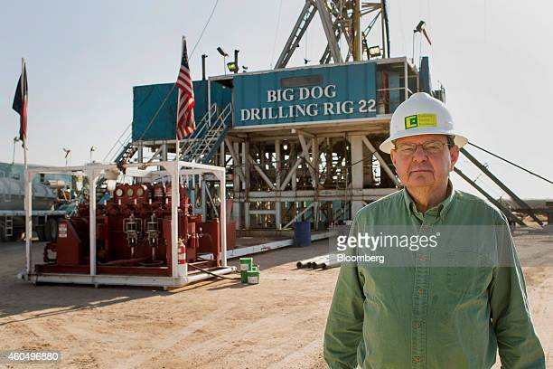 Autry Stephens, chief executive officer of Endeavor Energy Resources LP, stands for a photograph at the company's Big Dog Drilling Rig 22 in the...