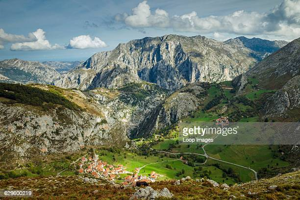 Autumn afternoon in Picos de Europa National Park Beges Spain