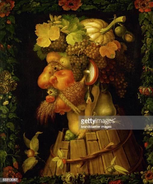 Autumn allegory 1573 Canvas 76 x 635 cm RF 196432 [Herbst Allegorie Gemaelde 1573]