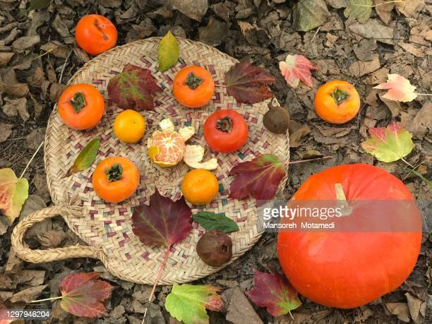 autumn and winter fruits - iran stock pictures, royalty-free photos & images