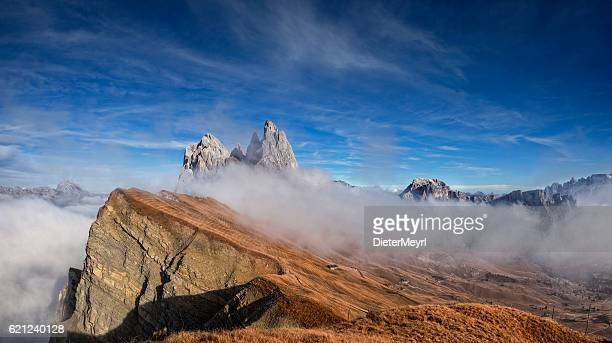 Autumn at Seceda in south Tirol