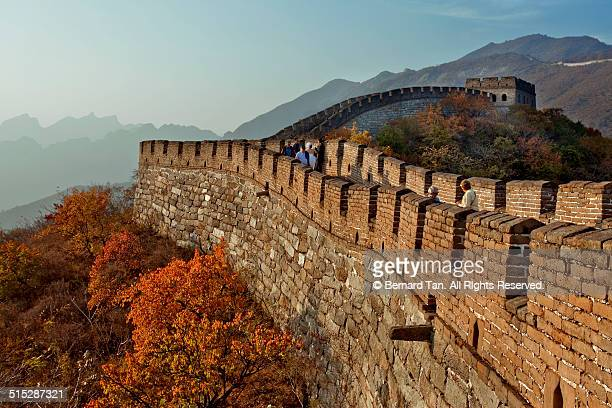 Autumn at the Great Wall