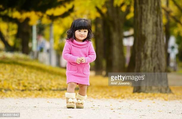 Autumn baby girl
