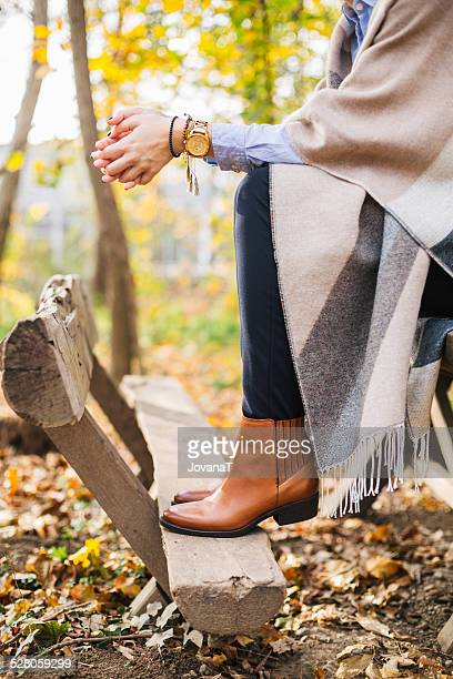 Autumn blogger story
