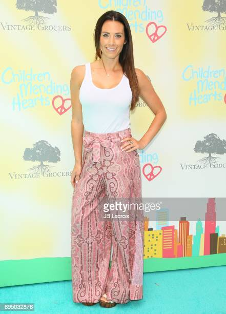 Autumn Calabrese attends the Children Mending Hearts 9th Annual Empathy Rocks Fundraiser on June 11 2017 in Beverly Hills California