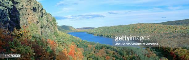 Autumn color at Porcupine State Park Michigan's Upper Peninsula Michigan