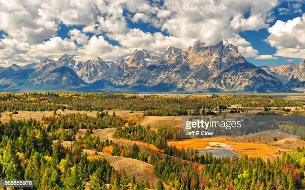 autumn color in grand teton national park 6 - jackson hole stock pictures, royalty-free photos & images