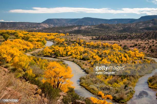 Rio Chama River Northern New Mexico Painted Cliffs #1 Photo Poster Print
