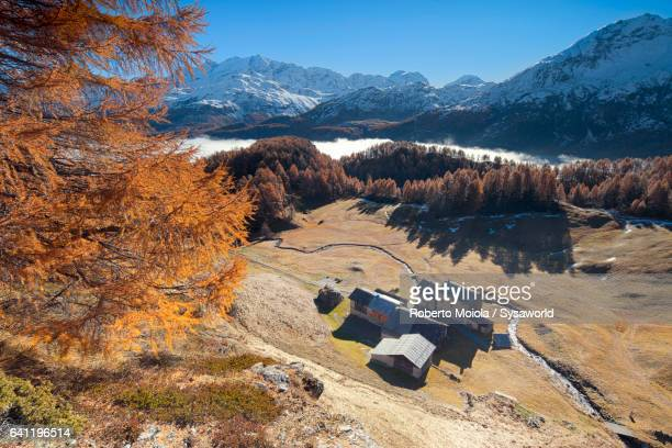 Autumn colors Buaira Switzerland