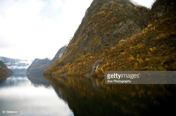 Autumn Colour, Aurlandsfjord, Norway