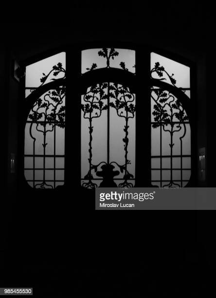 autumn door - gothic style stock pictures, royalty-free photos & images