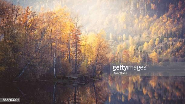Autumn evening in Norway