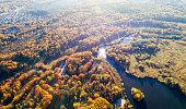 Autumn Forest near Yoshkar-Ola