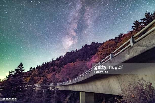 Autumn Glow at the Linn Cove Viaduct
