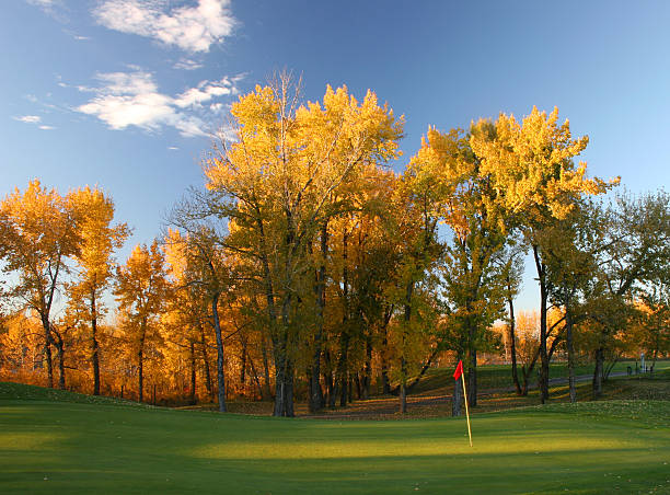 Autumn Golf Scenic Wall Art