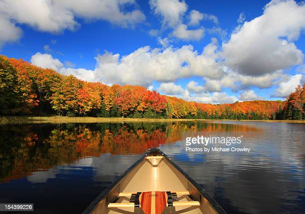 Autumn in a Canoe