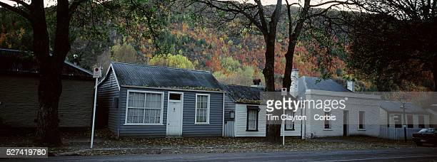 Autumn in Arrowtown Historic Cottages at the end of town Arrowtown is the much visited historic 4season southern hemisphere holiday destination...
