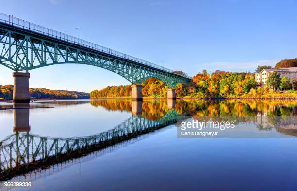 autumn in augusta, maine - new england usa stock pictures, royalty-free photos & images