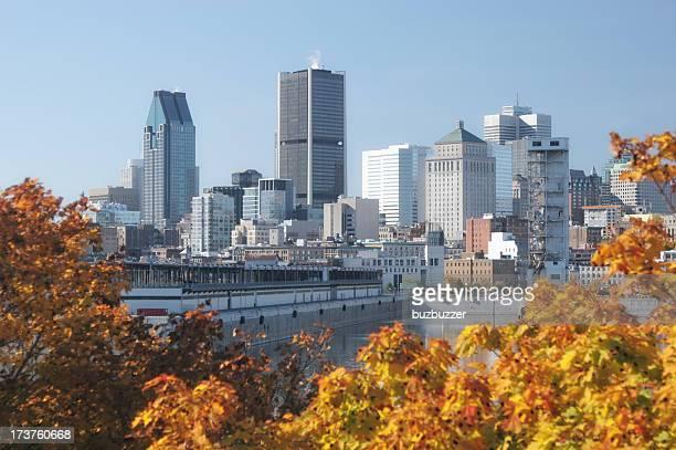 Autumn in Beautiful Montreal City
