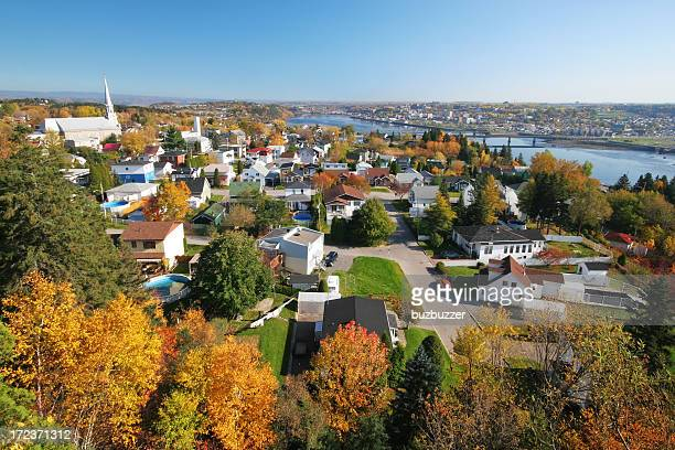 Autumn in Chicoutimi City