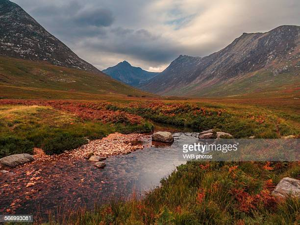 Autumn in Glen Sannox, Arran, Scotland