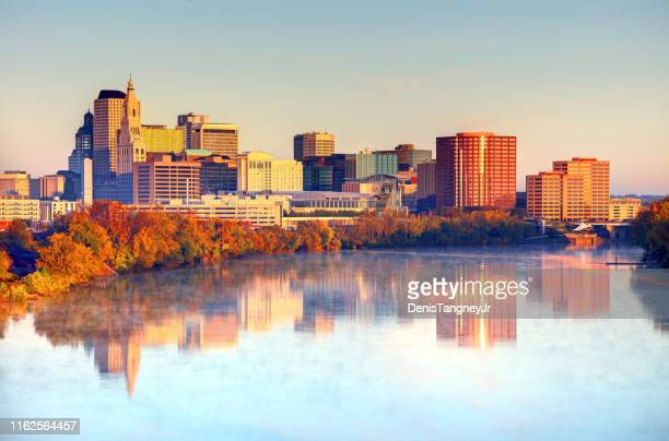 autumn in hartford, connecticut - hartford connecticut stock pictures, royalty-free photos & images