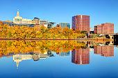 Autumn in Hartford, Connecticut