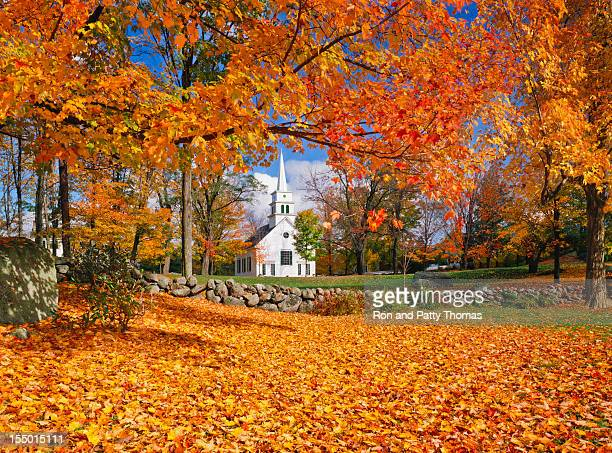 autumn in new hampshire - new england usa stock pictures, royalty-free photos & images