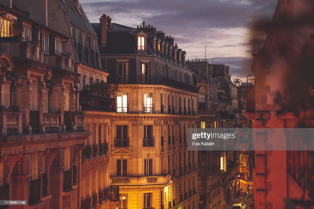 Otoño en París : Foto de stock