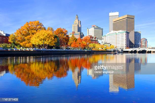 autumn in providence, rhode island - rhode island stock pictures, royalty-free photos & images
