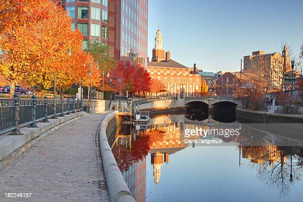 autumn in providence rhode island - rhode island stock pictures, royalty-free photos & images