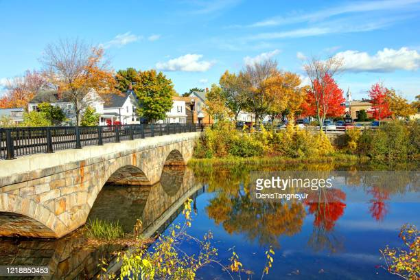 autumn in rochester, new hampshire - new hampshire stock pictures, royalty-free photos & images