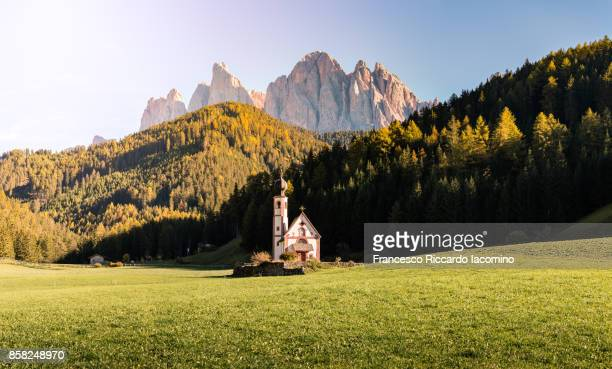 Autumn in the Dolomites Alps