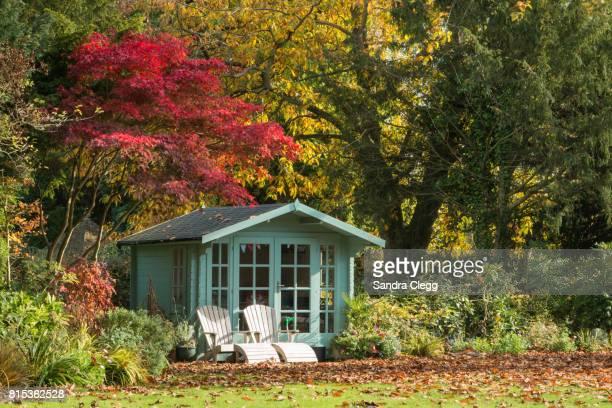 Autumn in the garden / Summer house