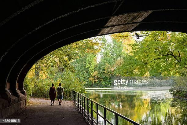 秋の公園 - プロスペクト公園 ストックフォトと画像