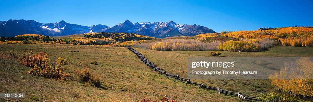 Autumn in the Rockies : Stock Photo