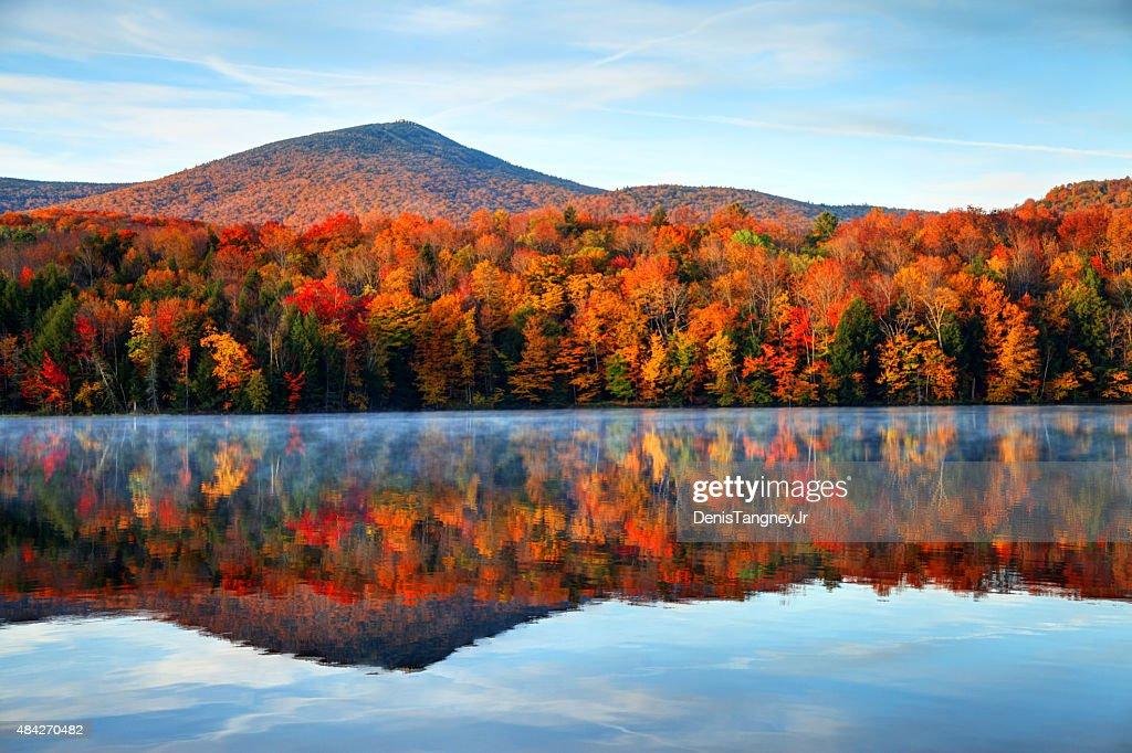 Autunno nel Vermont : Foto stock