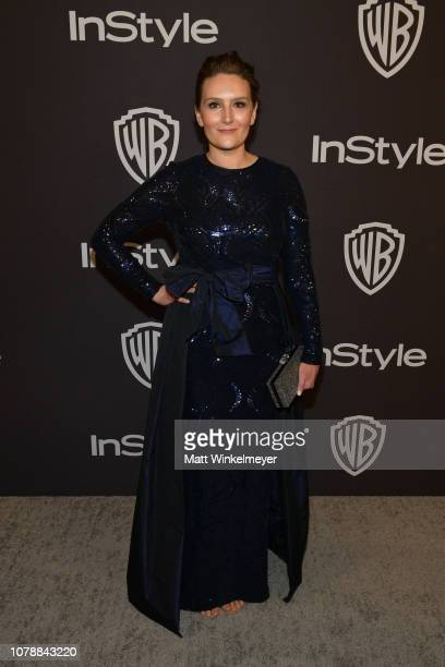 Autumn Knight attends the 2019 InStyle and Warner Bros 76th Annual Golden Globe Awards PostParty at The Beverly Hilton Hotel on January 6 2019 in...