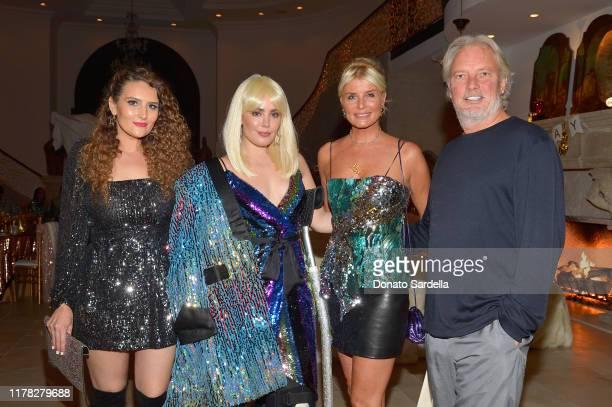 Autumn Knight Beau Dunn Begum Sen and Adnan Sen attend Laura Dunn's Glam Disco Bash on September 28 2019 in Beverly Hills California