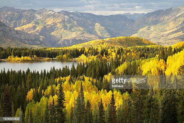 Autumn Lake in Colorado Rocky Mountains
