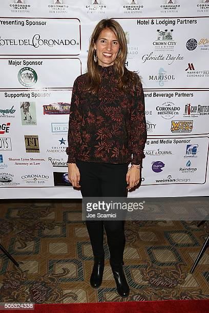 Autumn McAlpin arrives at Coronado Island Film Festival Rising Star Awards at Hotel Del Coronado on January 16 2016 in Coronado California