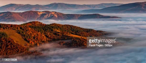 autumn near velky folkmar, slovakia - kosice stock pictures, royalty-free photos & images