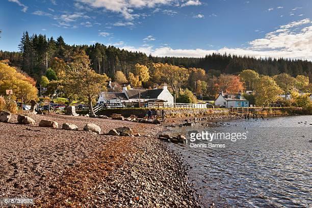 Autumn on Loch Ness, Dores