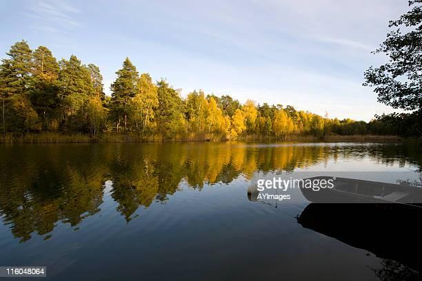 秋、ストックホルム群島 - ストックホルム県 ストックフォトと画像