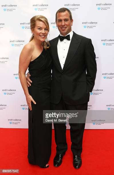 Autumn Phillips and Peter Phillips attend the 50th anniversary of The Beatles SGT Pepper Album at Abbey Road Studios for End The Silence and...