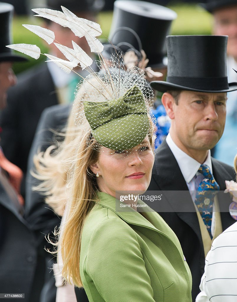 Autumn Phillips and Prince Edward, Earl of Wessex attend day 2 of Royal Ascot at Ascot Racecourse on June 17, 2015 in Ascot, England.