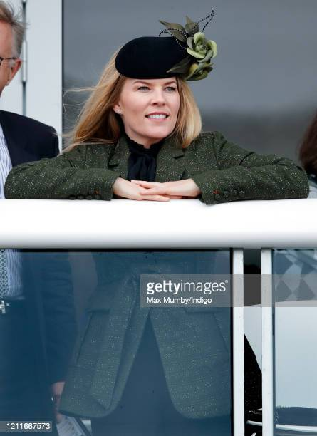 Autumn Phillips attends day 1 'Champion Day' of the Cheltenham Festival 2020 at Cheltenham Racecourse on March 10, 2020 in Cheltenham, England.