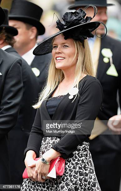 Autumn Phillips attends day 1 of Royal Ascot at Ascot Racecourse on June 16 2015 in Ascot England